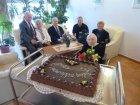 Ilonka nénink 95 éves lett, családjával együtt köszöntöttük
